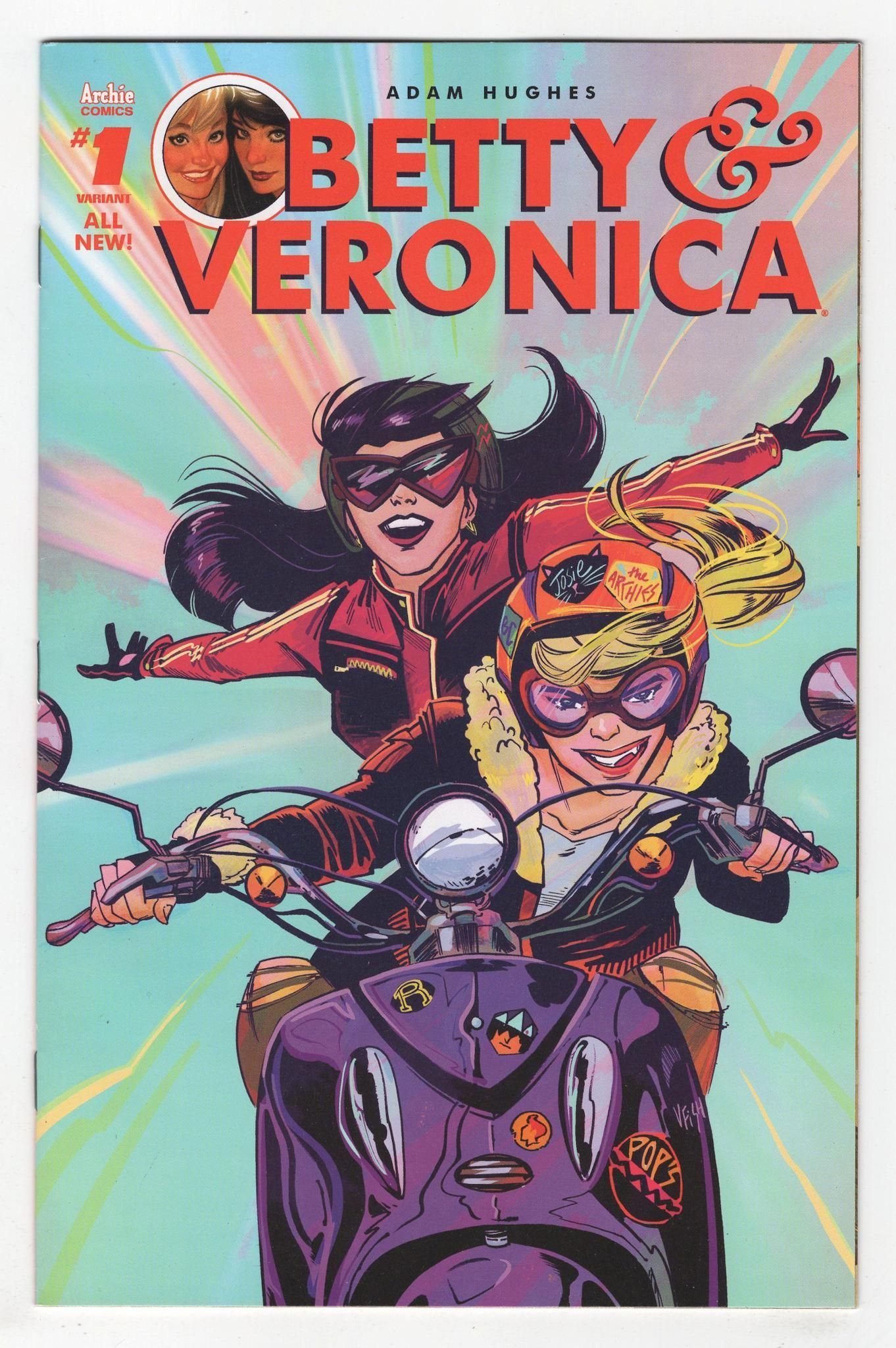 Betty and veronica 1 veronica fish variant cover 2016