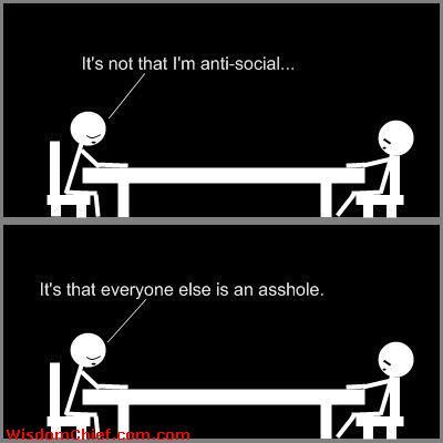 anti social quotes - Google Search