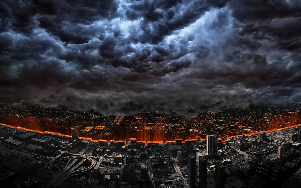 The city on fire... | Life is beautiful, Inspiration, Photo