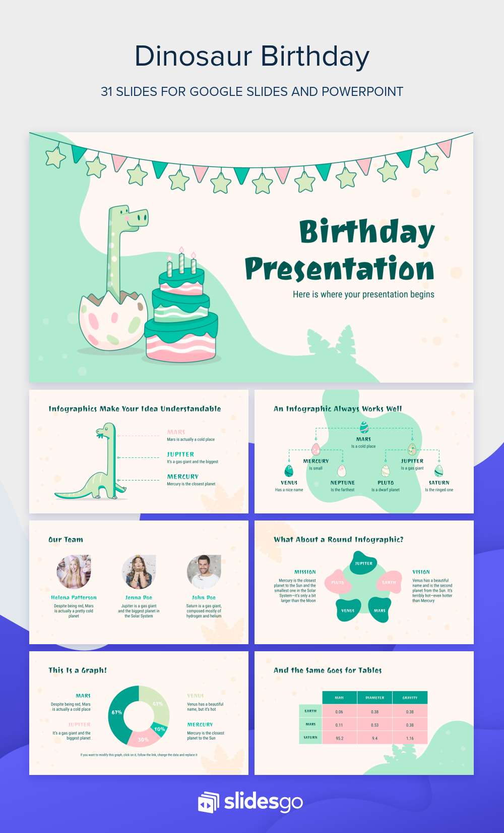 Celebrate Your Birthday Party With Funny Dinosaurs And This Google Slides Theme And Powerpoint Template Blow Google Slides Powerpoint Powerpoint Presentation