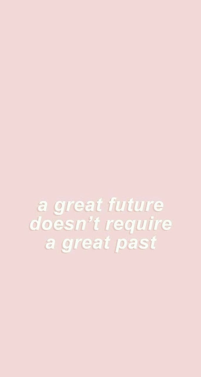 Your Past doesn't Define you.