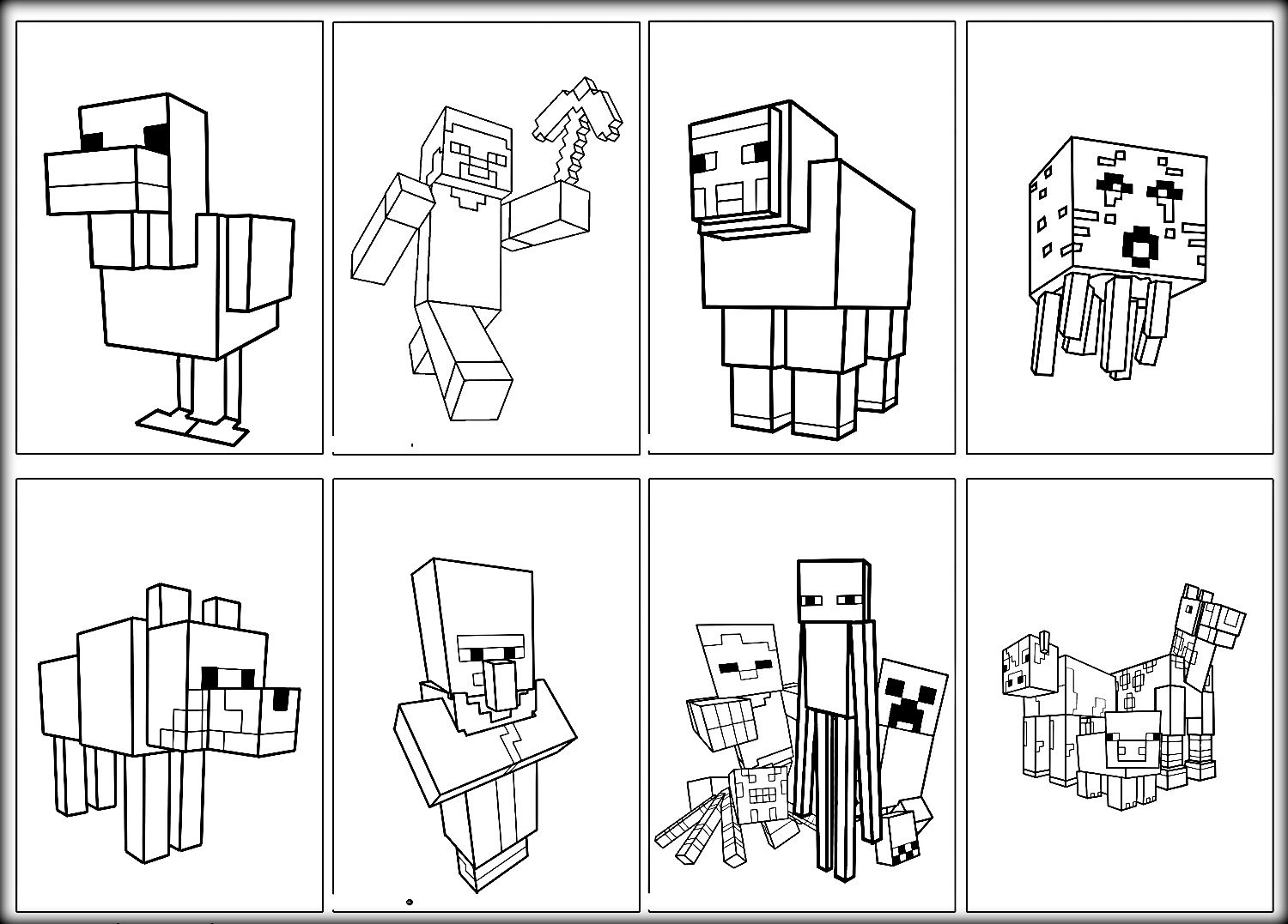 Minecraft Coloring Pages Steve Archives New Minecraft Coloring