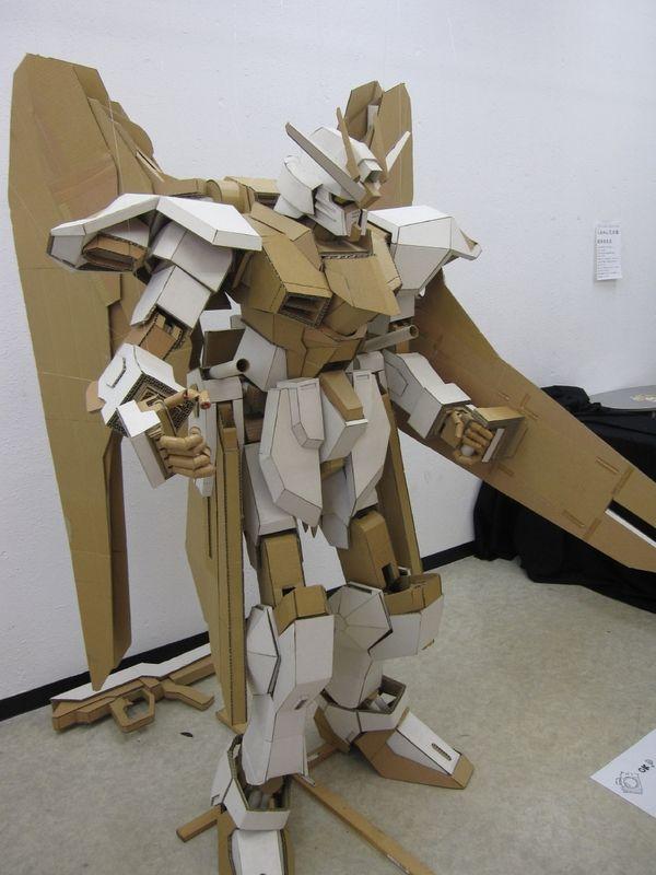 Cardboard Gundam Cardboard Art Cardboard Robot Art