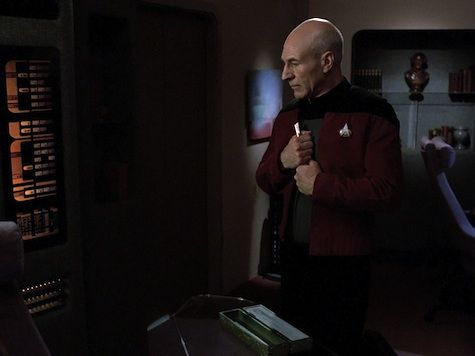 Jean-Luc Picard at the end of TNG: Inner Light (my favorite Star Trek episode)