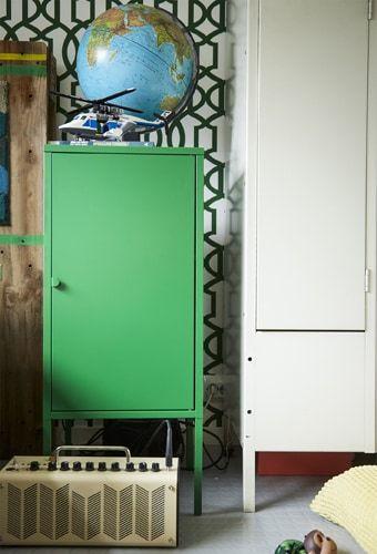 Ikea schrank grun for Folie fur turen