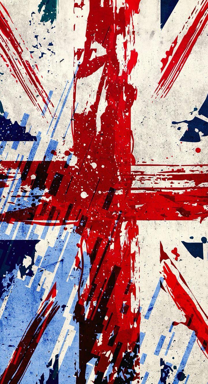 Union Jack Imagem De Fundo Para Iphone Inglaterra Bandeira Wallpaper Papel De Parede De Arte