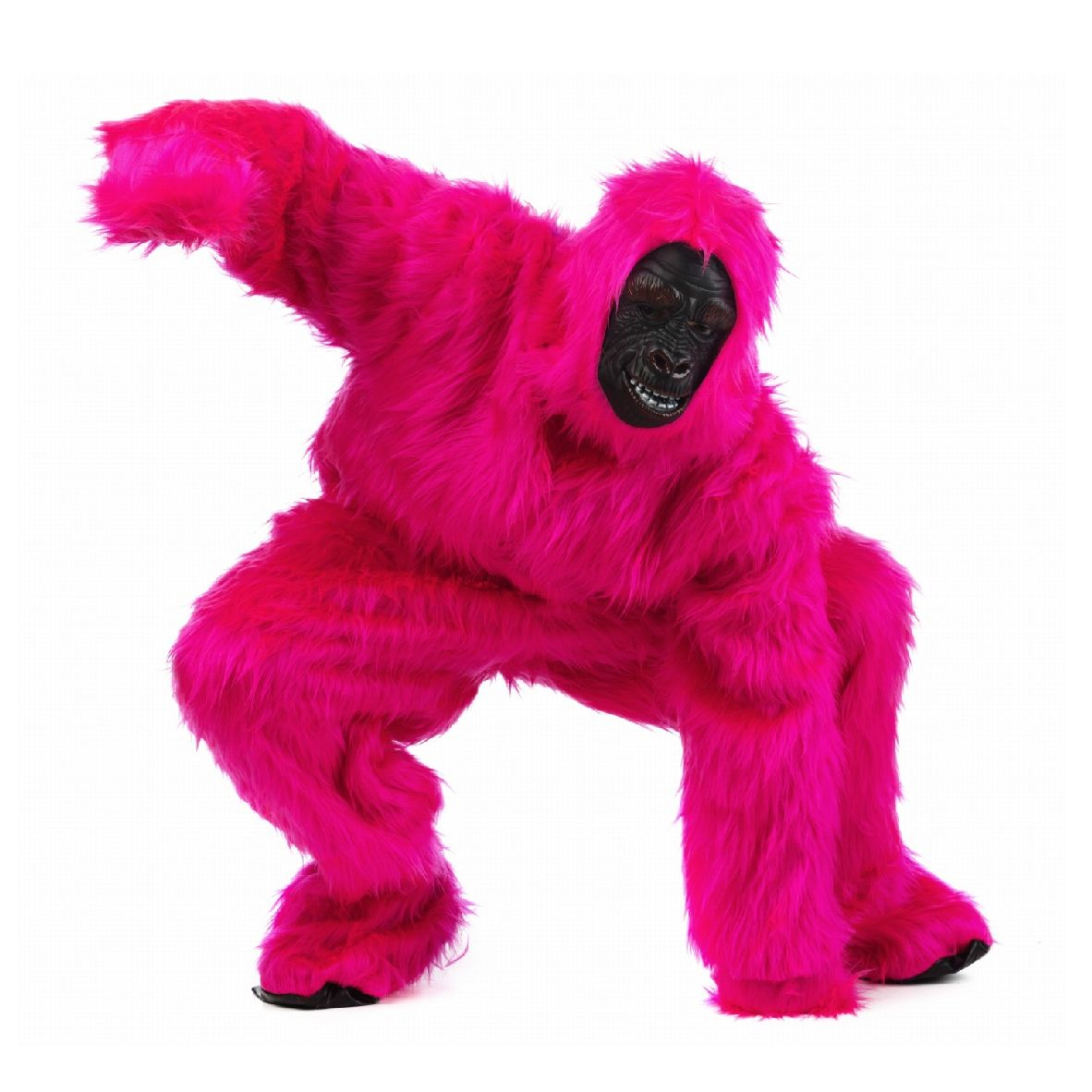 pinker affe hh gorilla nice kost me f r erwachsene. Black Bedroom Furniture Sets. Home Design Ideas