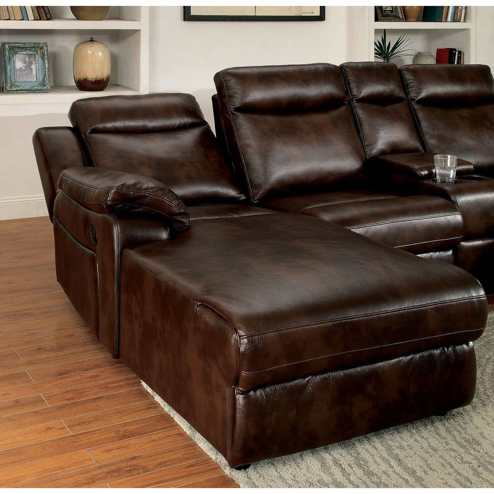Overstock Com Online Shopping Bedding Furniture Electronics Jewelry Clothing More In 2020 Reclining Sectional Reclining Sectional With Chaise Leather Reclining Sectional