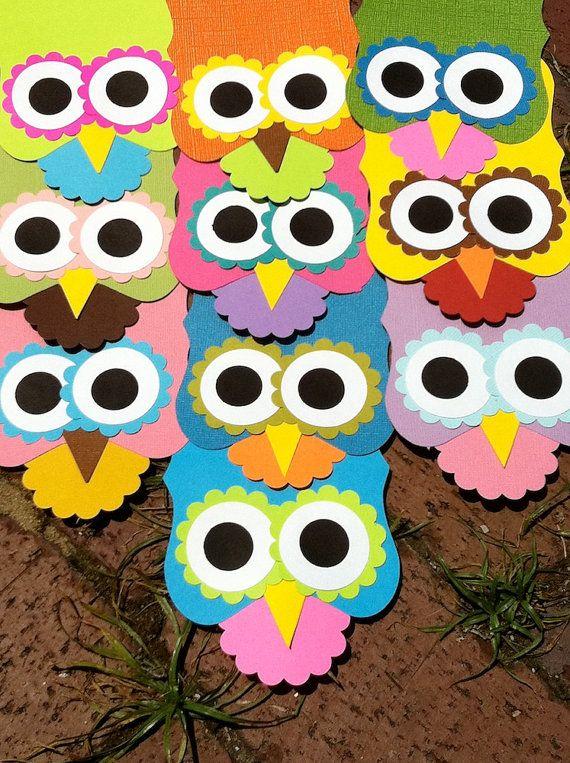 Favors Owl Birthday Parties Treat Bags Treats
