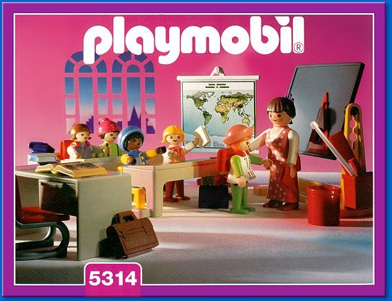 PLAYMOBIL  set #5314 - Classroom Toys Playmobil sets and stuff - playmobil badezimmer 4285