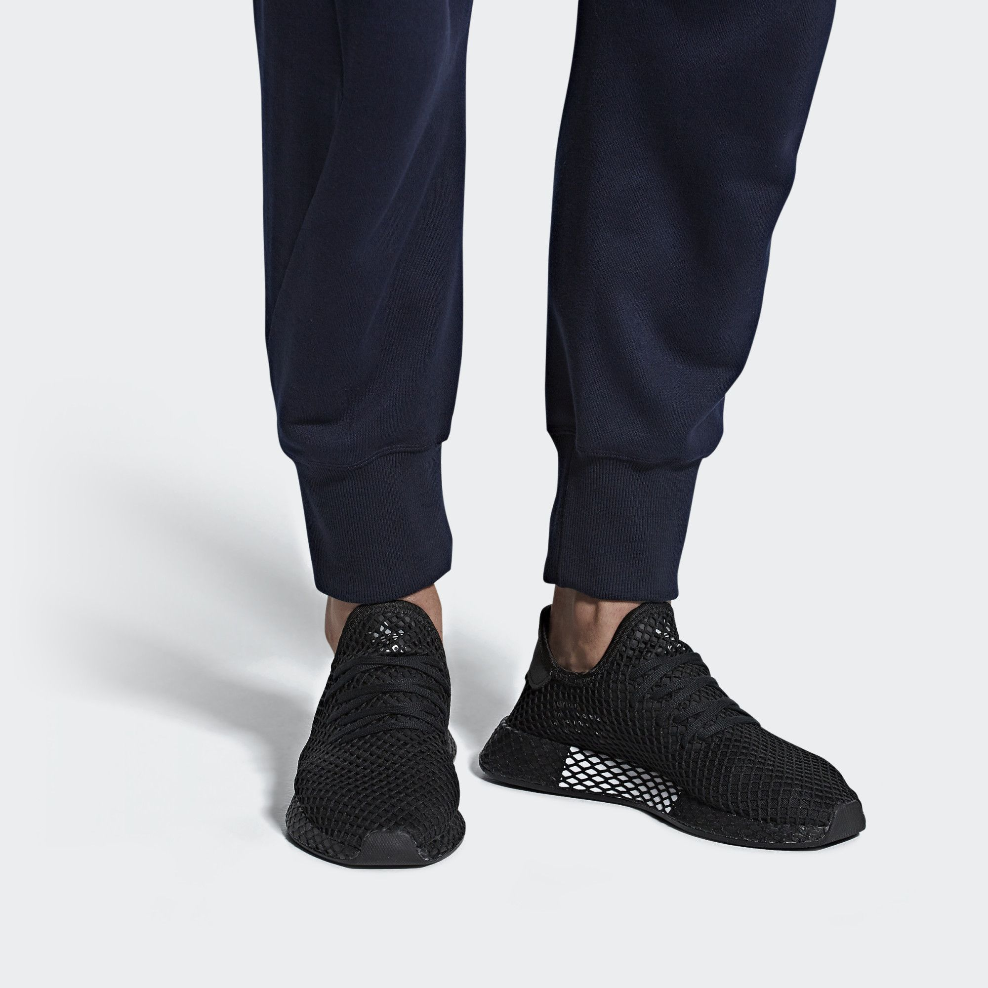 adidas Deerupt Runner Shoes - Black | adidas US | Zapatillas ...