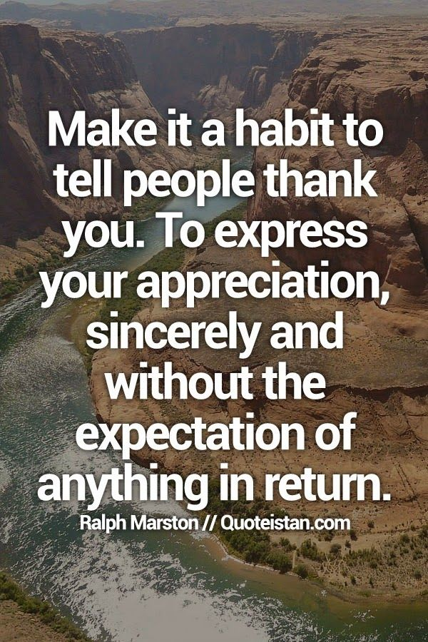 Lyric sincerely lyrics : Make it a #habit to tell people thank you. To express your ...
