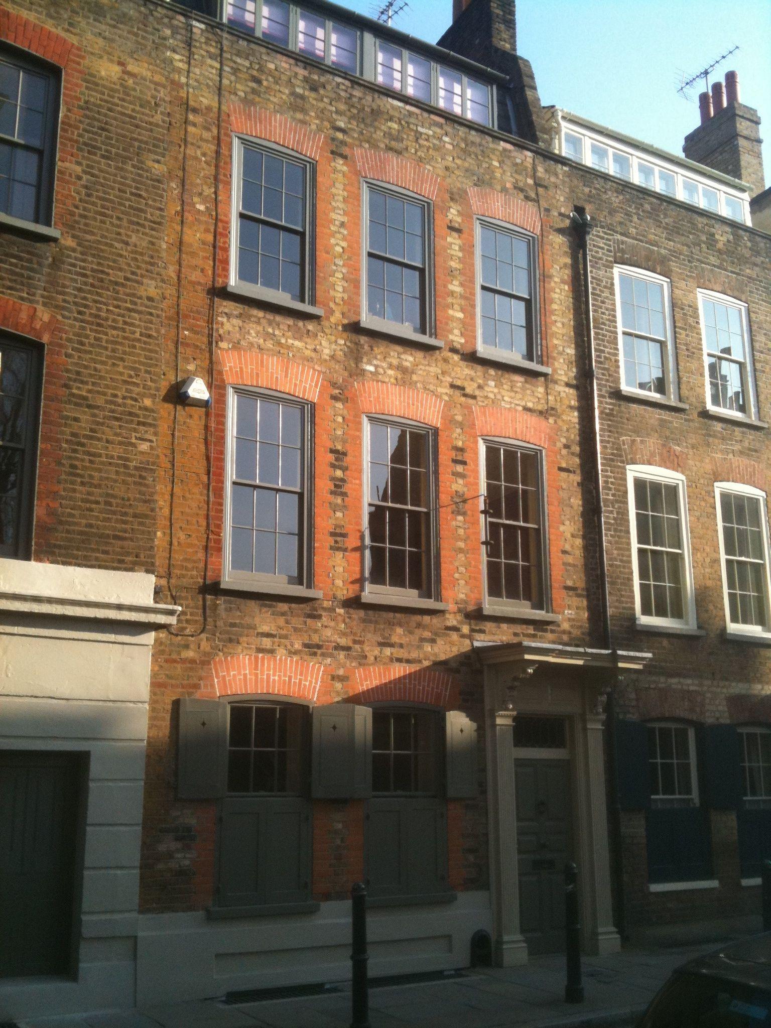 Georgian Houses Fournier Street Th Century London Pinterest - Beautiful georgian house in london