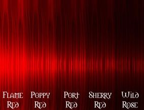 Mahogany Red Hair Color Chart Ideas Pictures