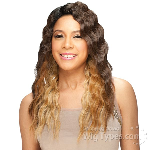 Model Model Deep Invisible Part Lace Front Wig Belle 2462 Wigs
