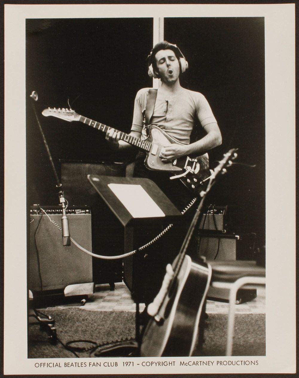 Paul McCartney RAM Recording Sessions 1971
