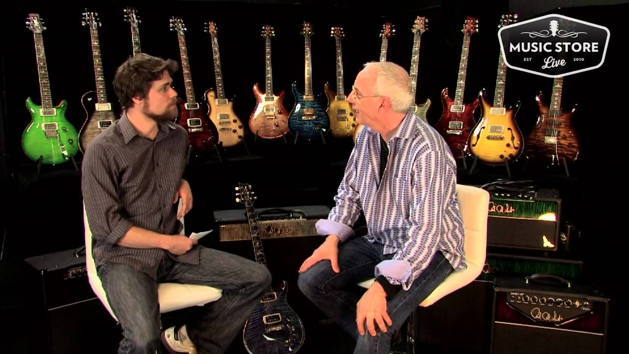 Paul Reed Smith Interview Prs Talks Paf Pickups Wire And 408 Humbucker Wiring Diagram