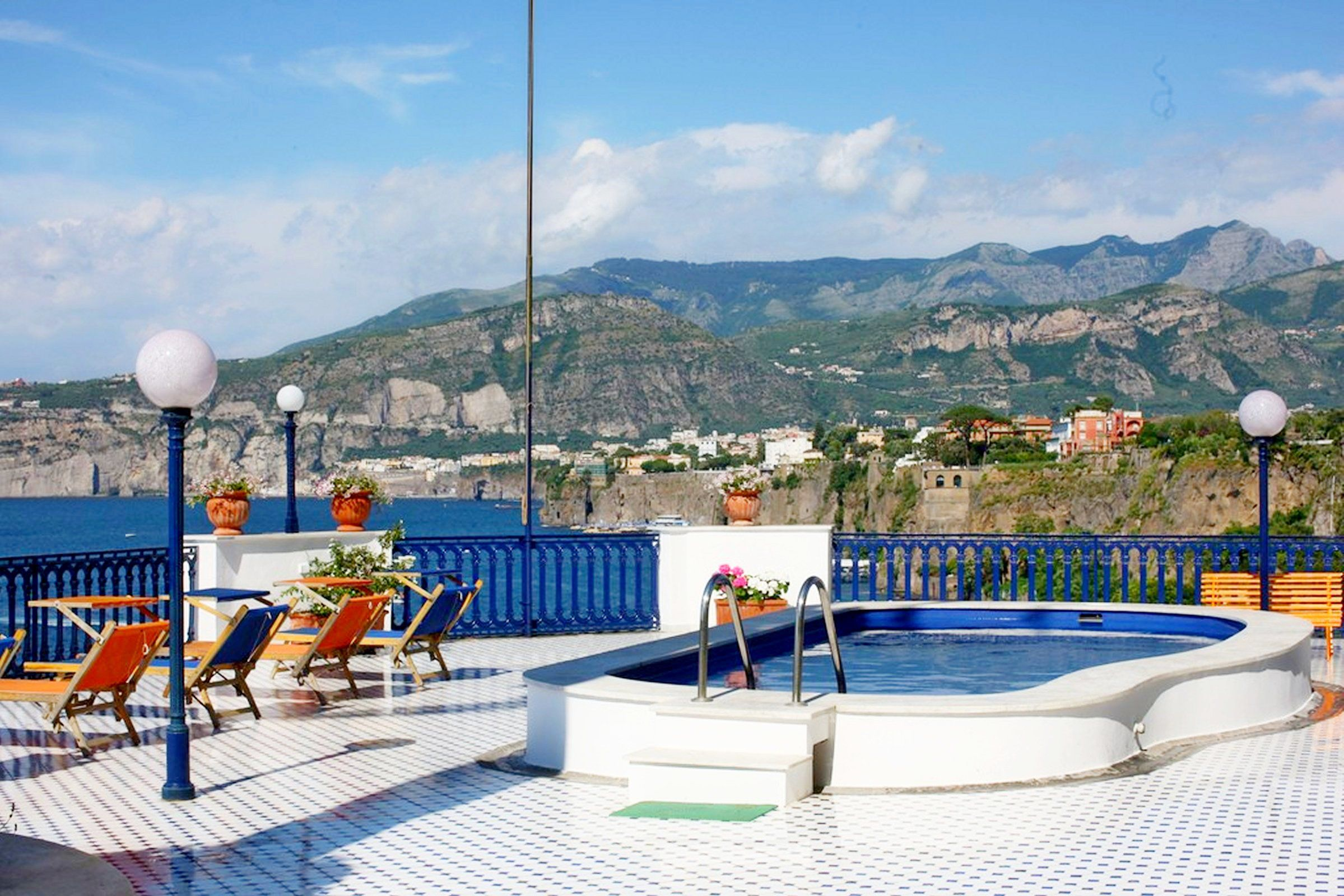 Pool and terrace at Villa la Terrazza, Sorrento | Our villa ...