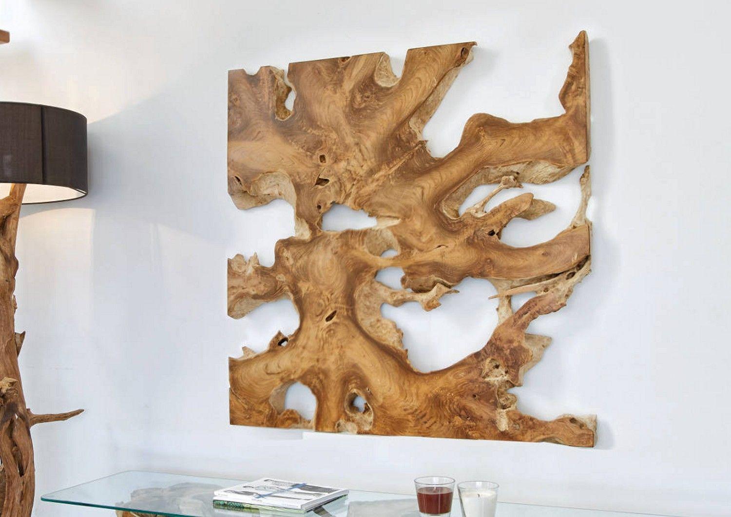 teakholz wandbild wanddekoration teak wurzelholz deko holz teak holz und wurzelholz. Black Bedroom Furniture Sets. Home Design Ideas