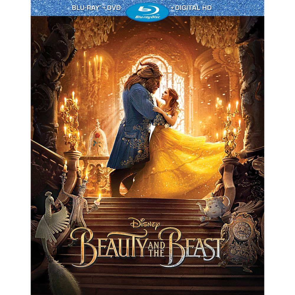Beauty and the Beast Live Action Film Bluray Combo