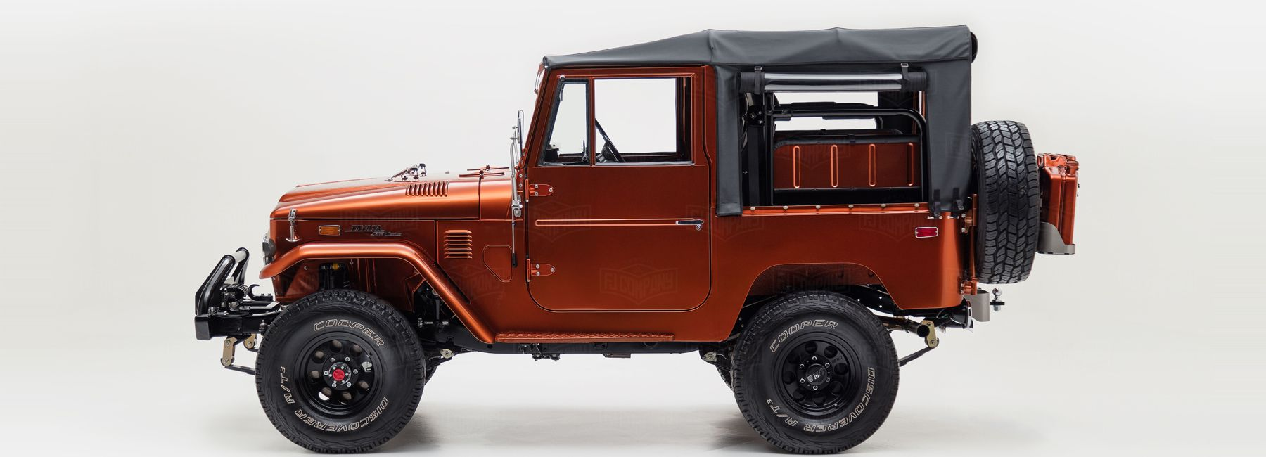 The FJ Company build some of the most handsome custom Toyota Land