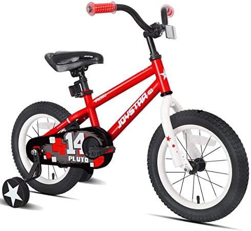 Amazon Com Joystar Totem Kids Bike With Training Wheels For 12 14 16 Inch Bike Kickstand For 18 Inch Bike In 2020 Bike With Training Wheels Kids Bike Kids Bicycle
