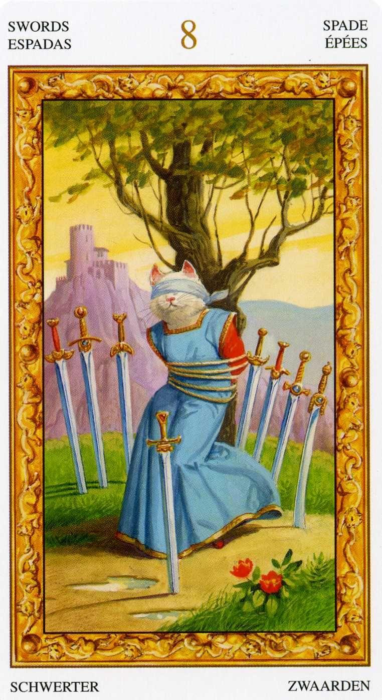 Tarot D The Didactic Tarot By Jeffrey M Donato: Tarot Chats Blancs Par Severino Baraldi