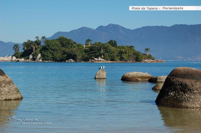 Praia da Tapera, Florianópolis (SC)