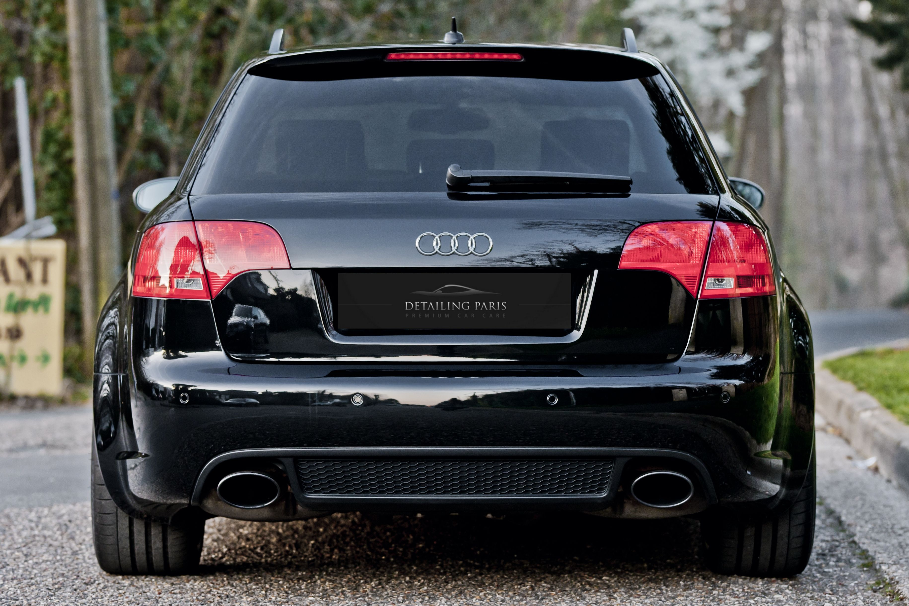 audi rs4 b7 black edition detailing paris mymotors suv pinterest audi rs4 and cars. Black Bedroom Furniture Sets. Home Design Ideas
