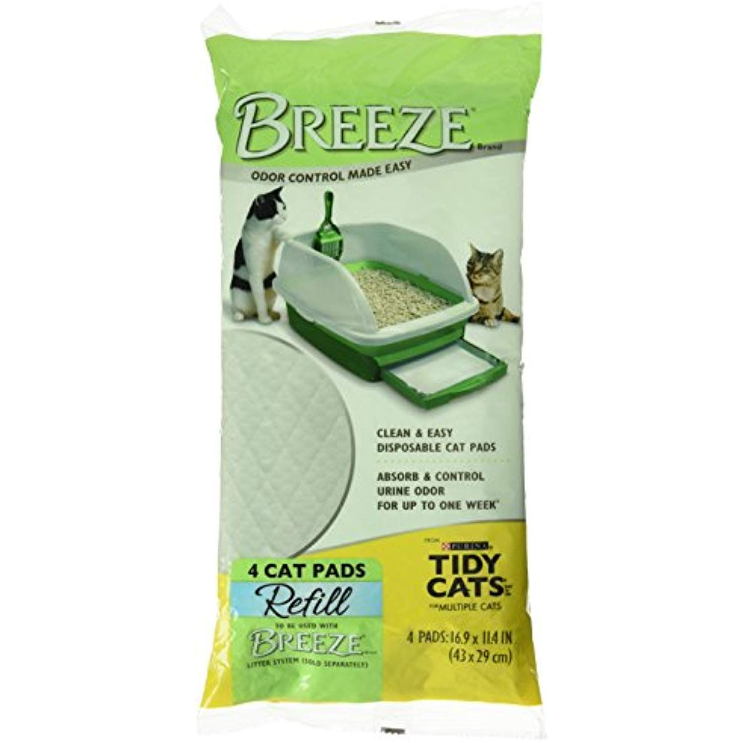 Tidy Cats Breeze Cat Pads 4/pack >>> Read more reviews of