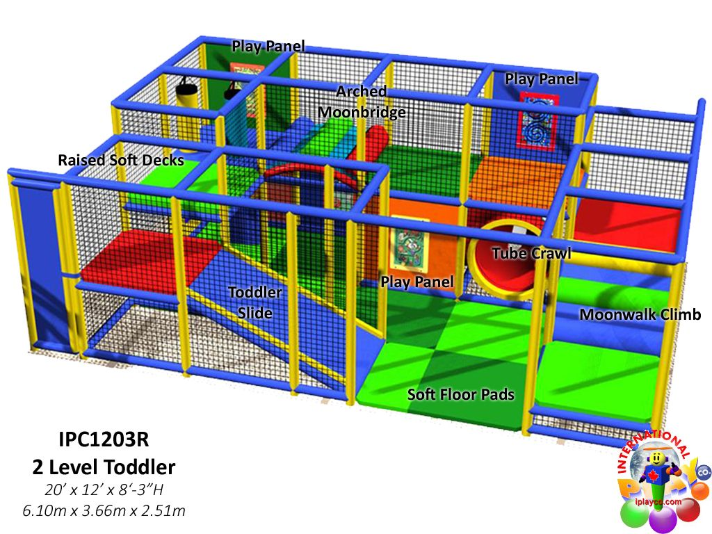Commercial indoor toddler playground equipment for Indoor playground design ideas