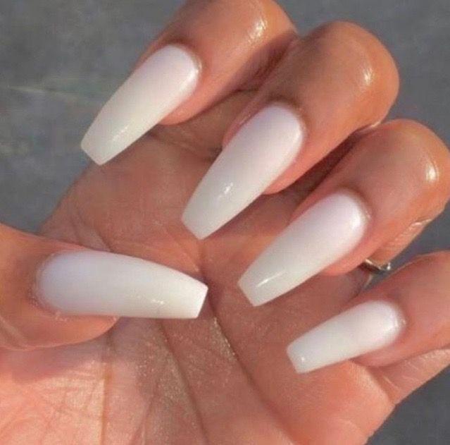 Cream Colored Nails Nails Acrylic Nails Pretty Nails Perfect