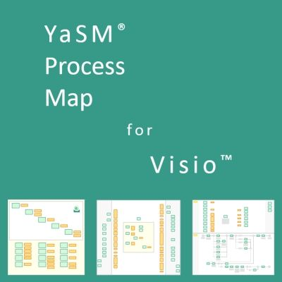 Service Management Process Templates For Visio The YaSM Process - Visio process map template