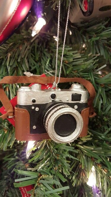 super cute dslr camera ornament boscovs - Boscovs Christmas Decorations