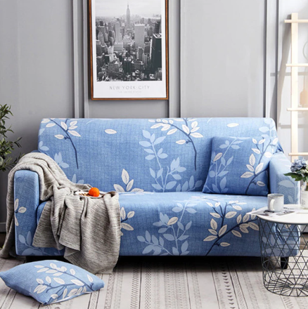 Decorative Stretch Sofa Cover   Couch covers, Sofa covers, Couch