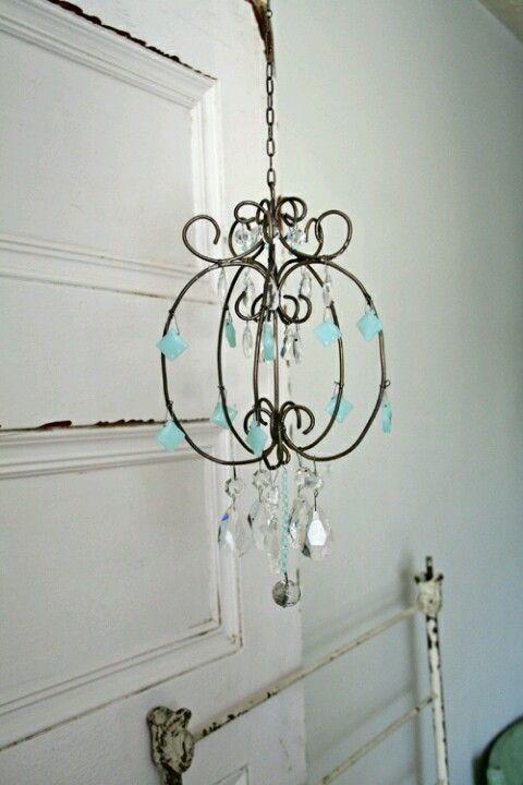 Diy peacock chandelier peacock pinterest peacock chandeliers diy peacock chandelier wire chandelierfrench chandelierchandelier ideashow aloadofball Gallery