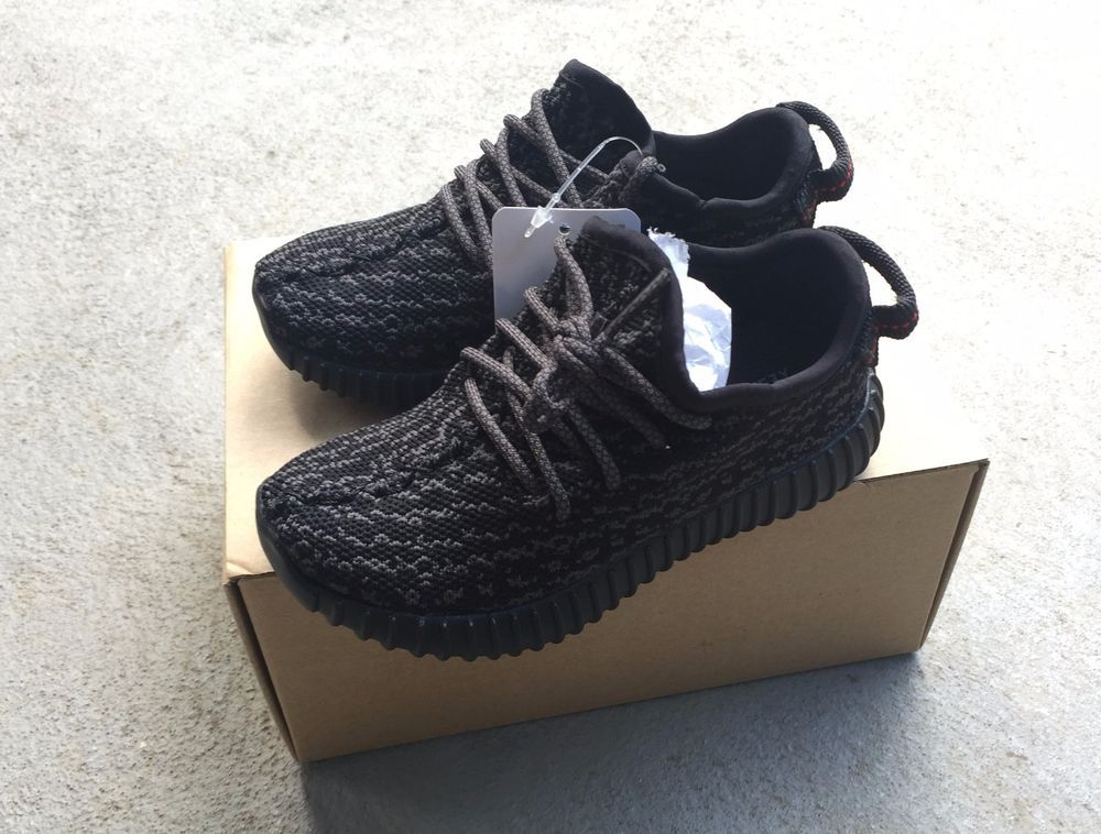 f4b287465 baby yeezy boost shoes adidas yeezy black pirate