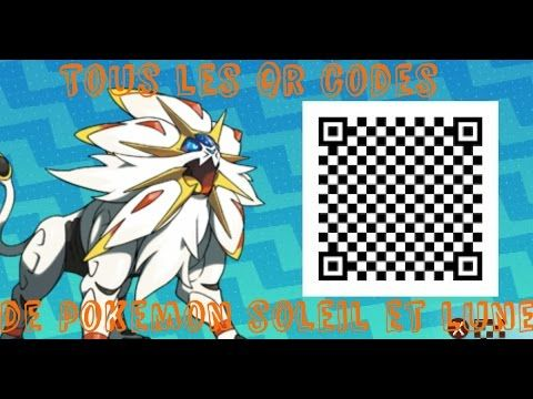 pokemon ultra sun and moon qr codes events