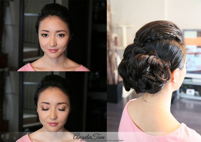 Los Angeles Wedding Asian Bride Makeup Artist And Hair Stylist