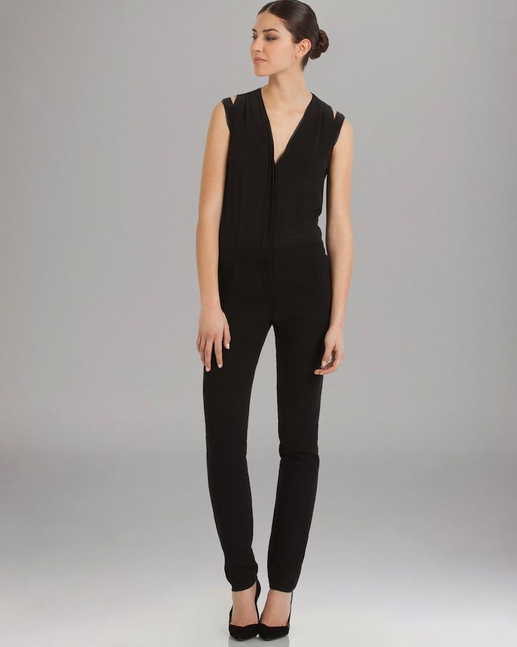 db3a529f45b MAJE Black Jumpsuit