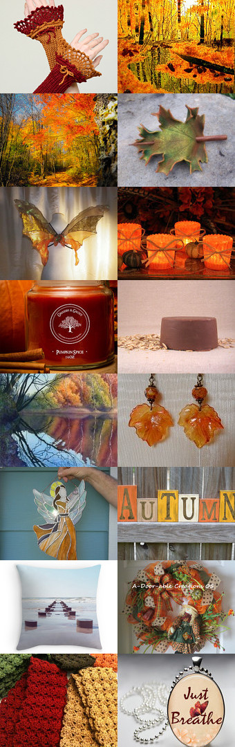 Autumn Serenity by Diane on Etsy