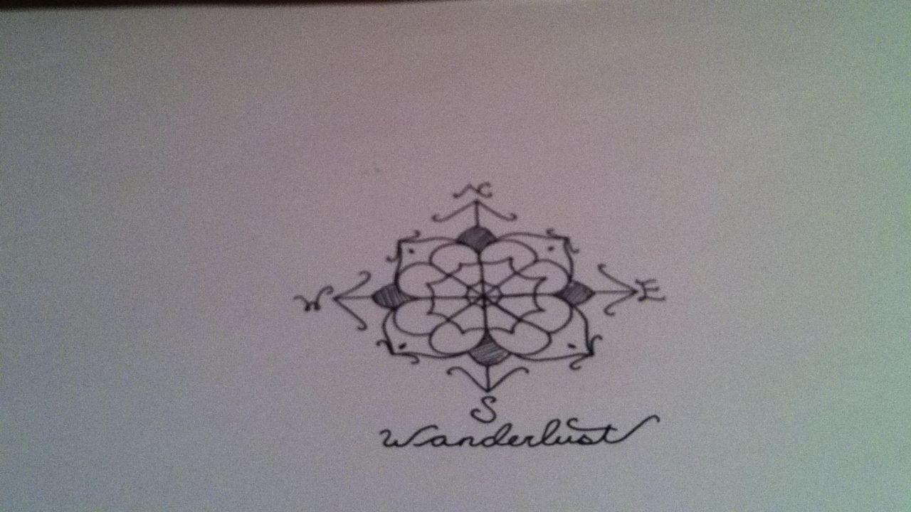wanderlust tattoo my style tatouage et idee tattoo. Black Bedroom Furniture Sets. Home Design Ideas