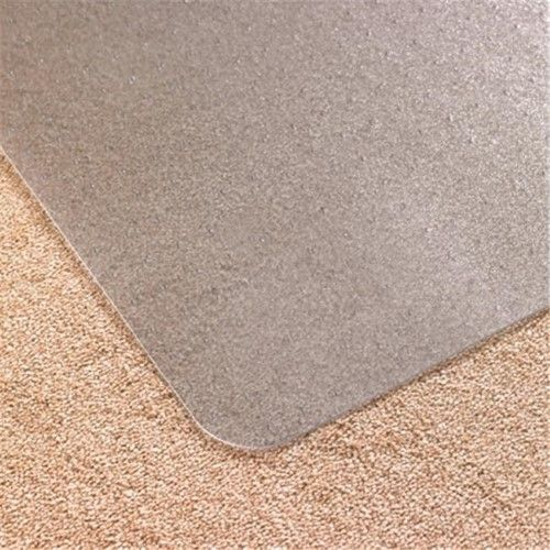 carpet chair mats broyhill lenora club cleartex advantagemat pvc rectangular mat for plush pile carpets over 0 75 in 48 x 60 as shown