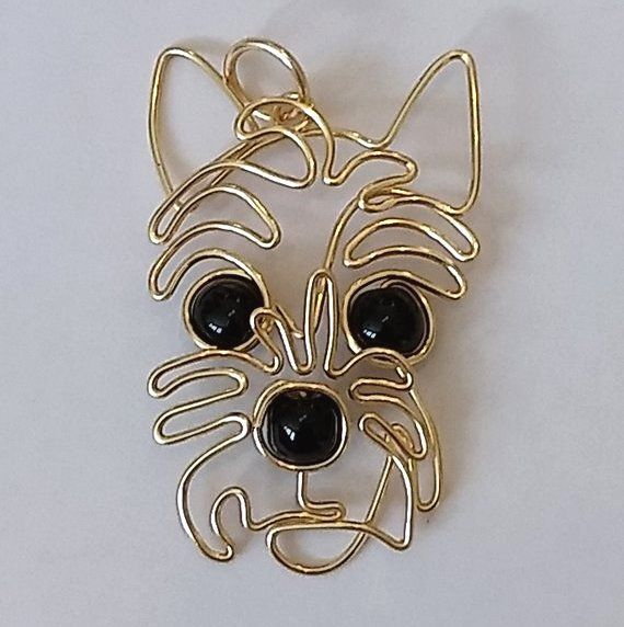 Photo of Whimsical wire animal jewelry by 1ofAkinds – The Beading Gem's Journal – Wund …