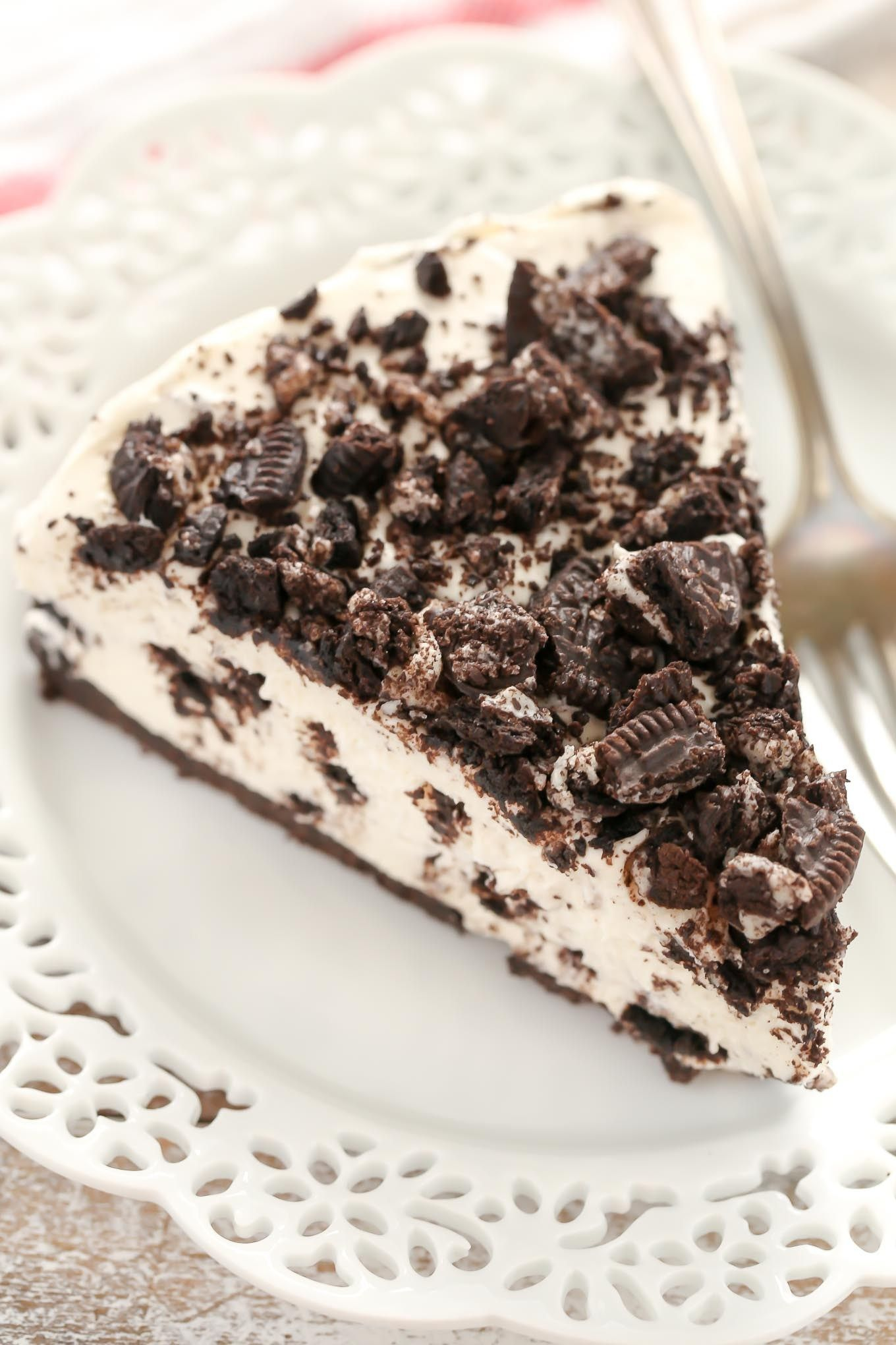 No Bake Oreo Kuchen An Easy No Bake Oreo Cheesecake With An Oreo Crust This Simple No