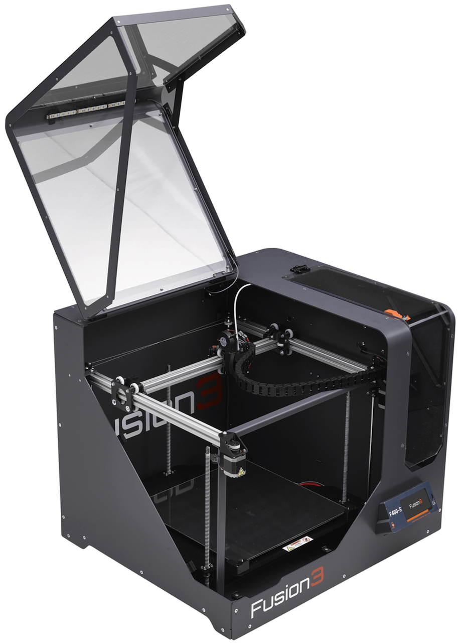 Fusion3's Surprise The F400 3D Printer, A Designer's