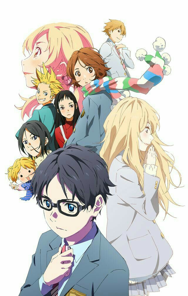 Shigatsu Wa Kimi no Uso Your lie in april, Anime, You lied