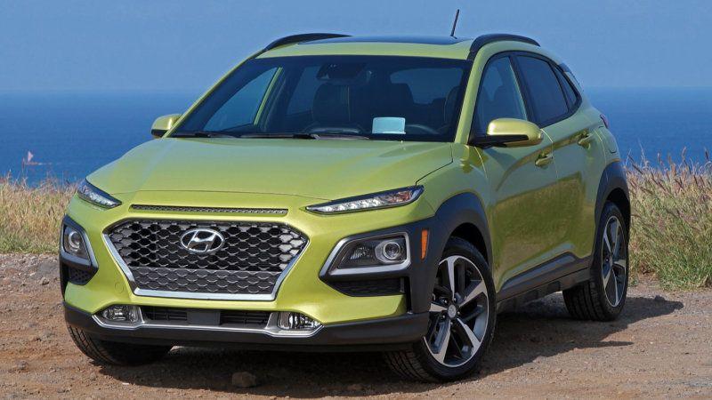 2018 Hyundai Kona's better lights earn Top Safety Pick+