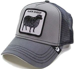 NEW Goorin Bros BLACK SHEEP Snapback Trucker Hat Animal Farm Cap Original