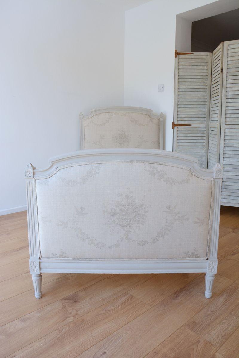 Bespoke French Gustavian Bed (single) in @kateformanstore Grey ...